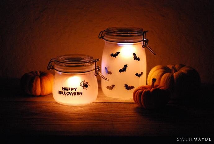 Photophores d'Halloween