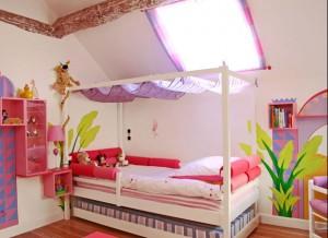 Comment personnaliser sa chambre coucher le mag de l - Couleur pour chambre de fille ...
