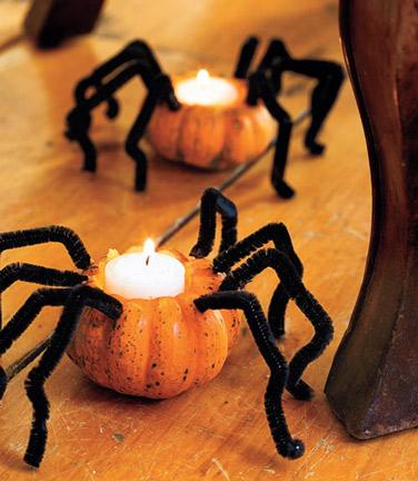 Bougie Halloween