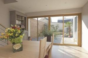 Fenêtre bois et aluminium