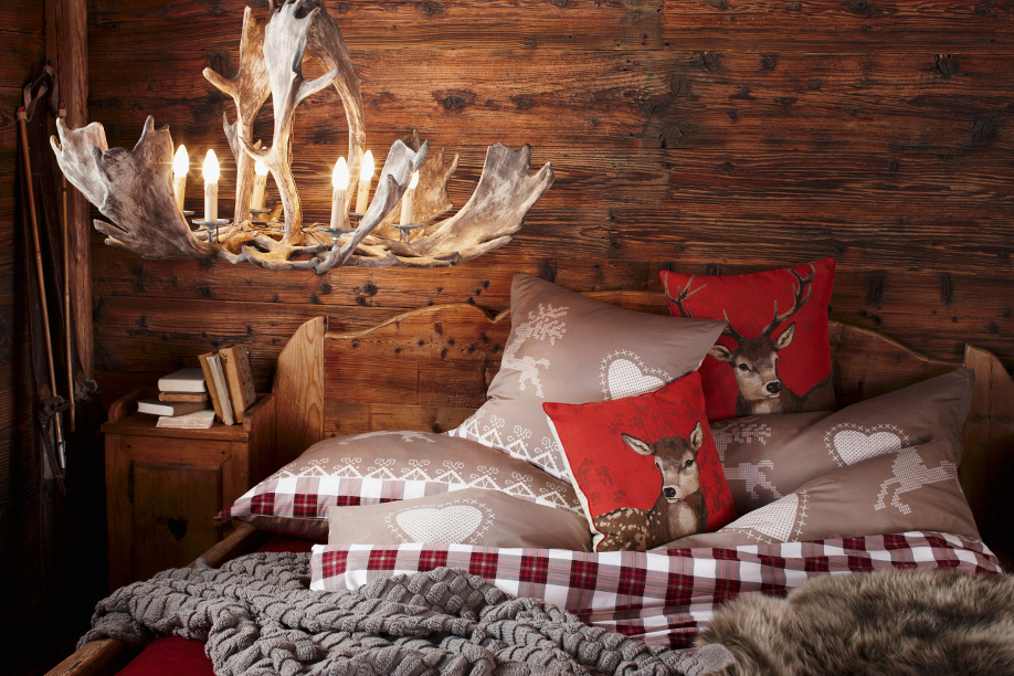 Rustique moderne ou glamour trois styles de d co pour un chalet cosy le mag de l 39 habitat for Photo decoration interieure chalet