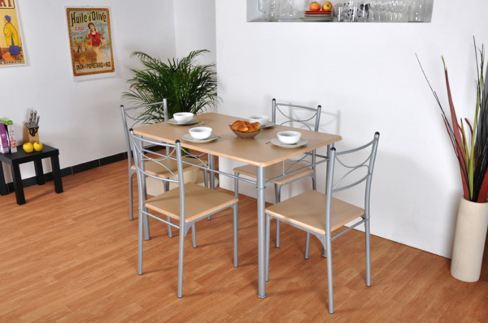 Table de cuisine moderne for Table de cuisine