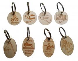 Porte clef en bois
