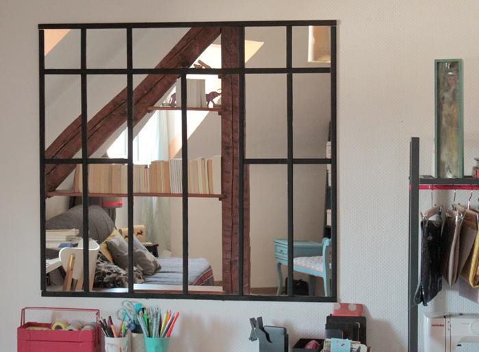 Miroir mon beau miroir le mag de l 39 habitat - Verriere interieure ikea ...