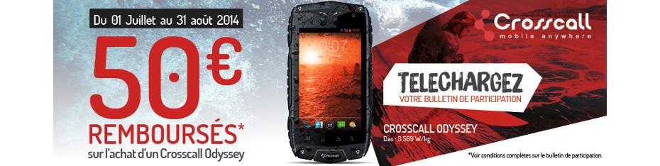 ODR smartphone Crosscall