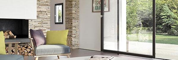 Fenêtre en bois et alu